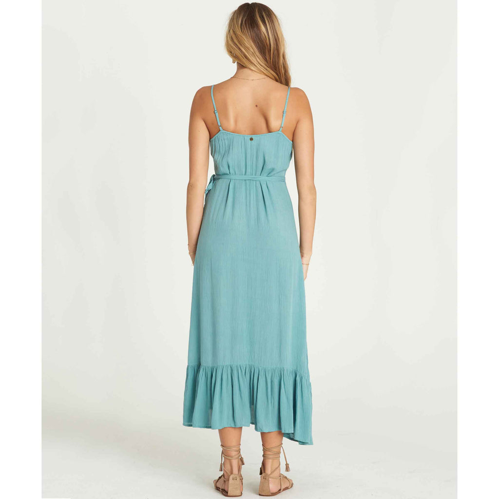 Billabong Women's Hold Me Tight Wrap Maxi Dress
