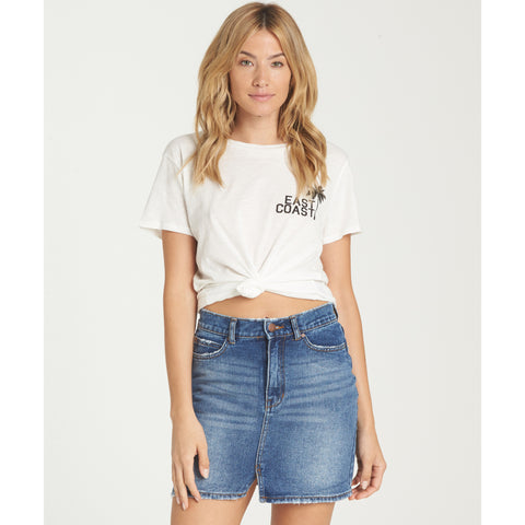 Billabong Women's Black Magic Denim Skirt | Sail Away