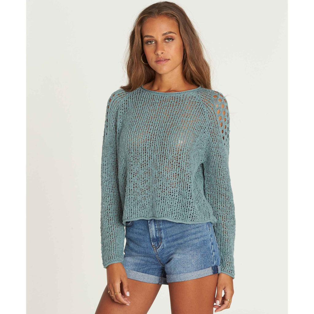 Billabong Women's Sea Ya Soon Cozy Knit Sweater