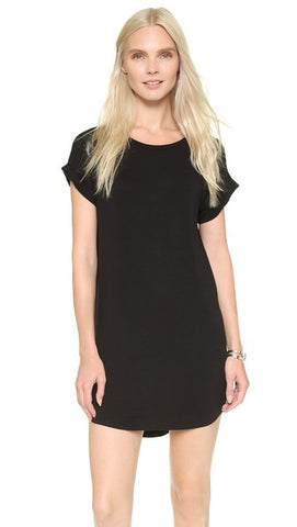 Knot Sisters Stone Dress | Black