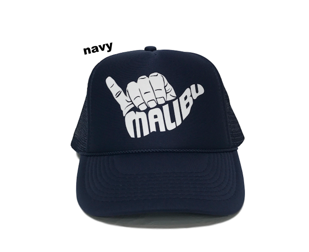 HANG LOOSE MALIBU Trucker Hat by PCA