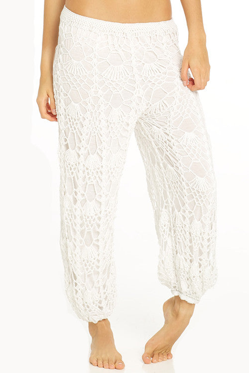 Indah Riches Pant | White | Pinnacle Malibu