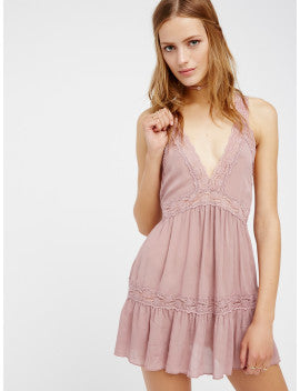 Free People Look of Love Slip Dress | Rose
