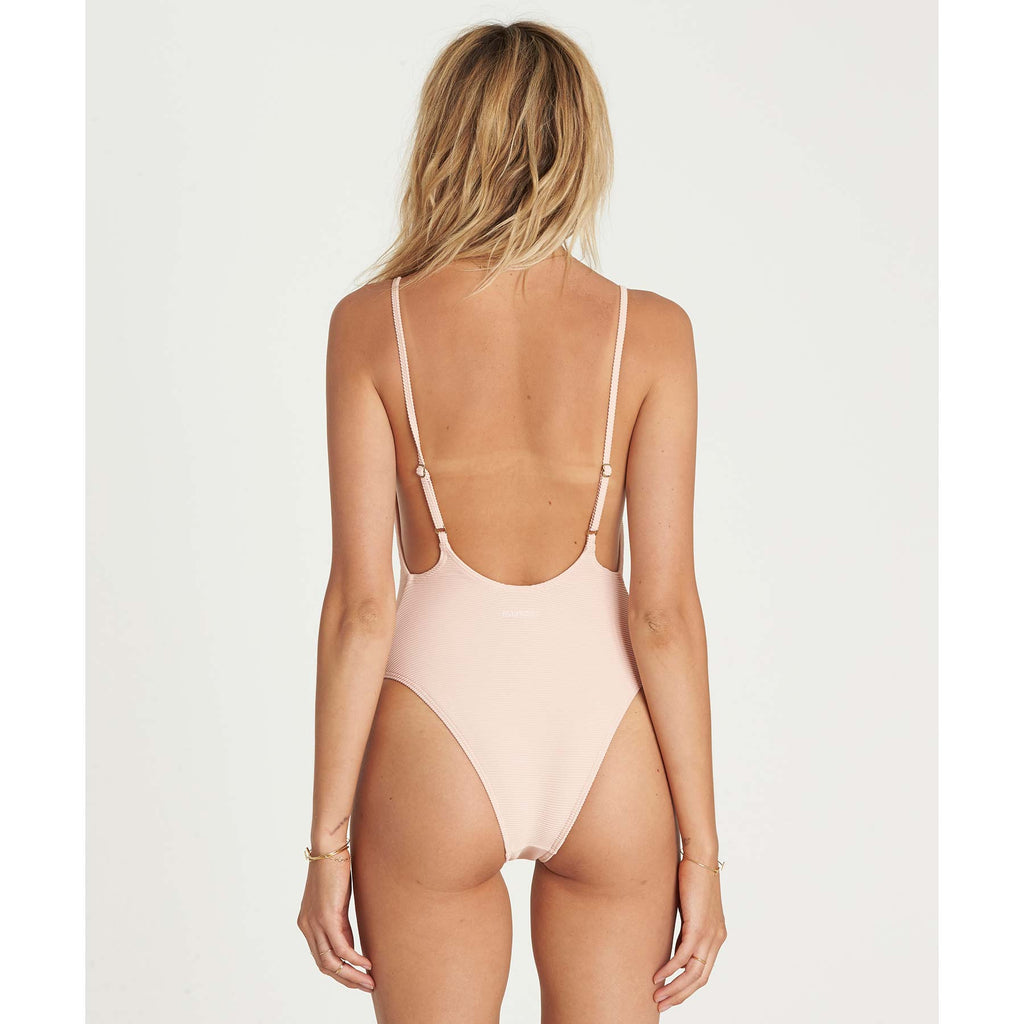 Billabong Women's Tanlines One Piece Swim | Barely Blush