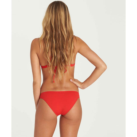 Billabong Women's Sol Searcher Tropic Bikini Bottom | Chili Pepper