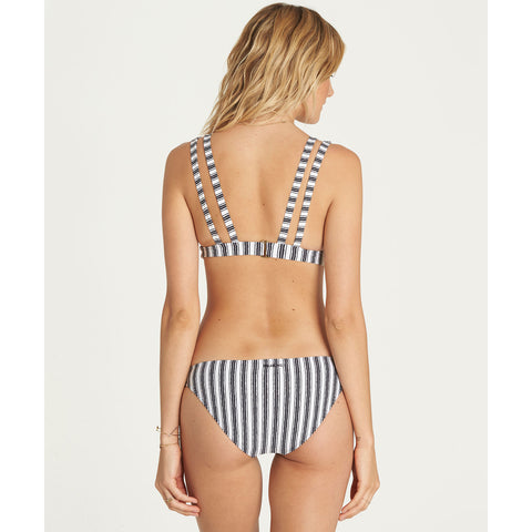 Billabong Women's Get In Line Lowrider Bottom | Multi Stripe