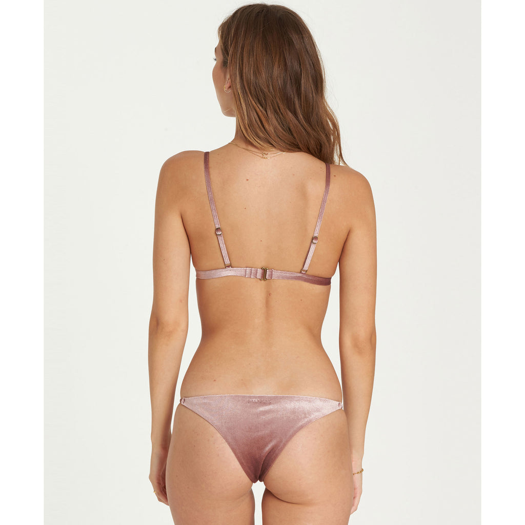 Billabong Women's Fool 4 U Isla Bikini Bottom | Vintage Plum