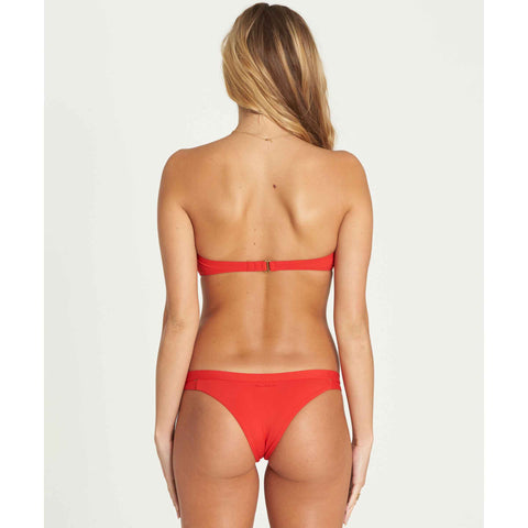 Billabong Women's Sol Searcher Isla Bikini Bottoms | Chili Pepper