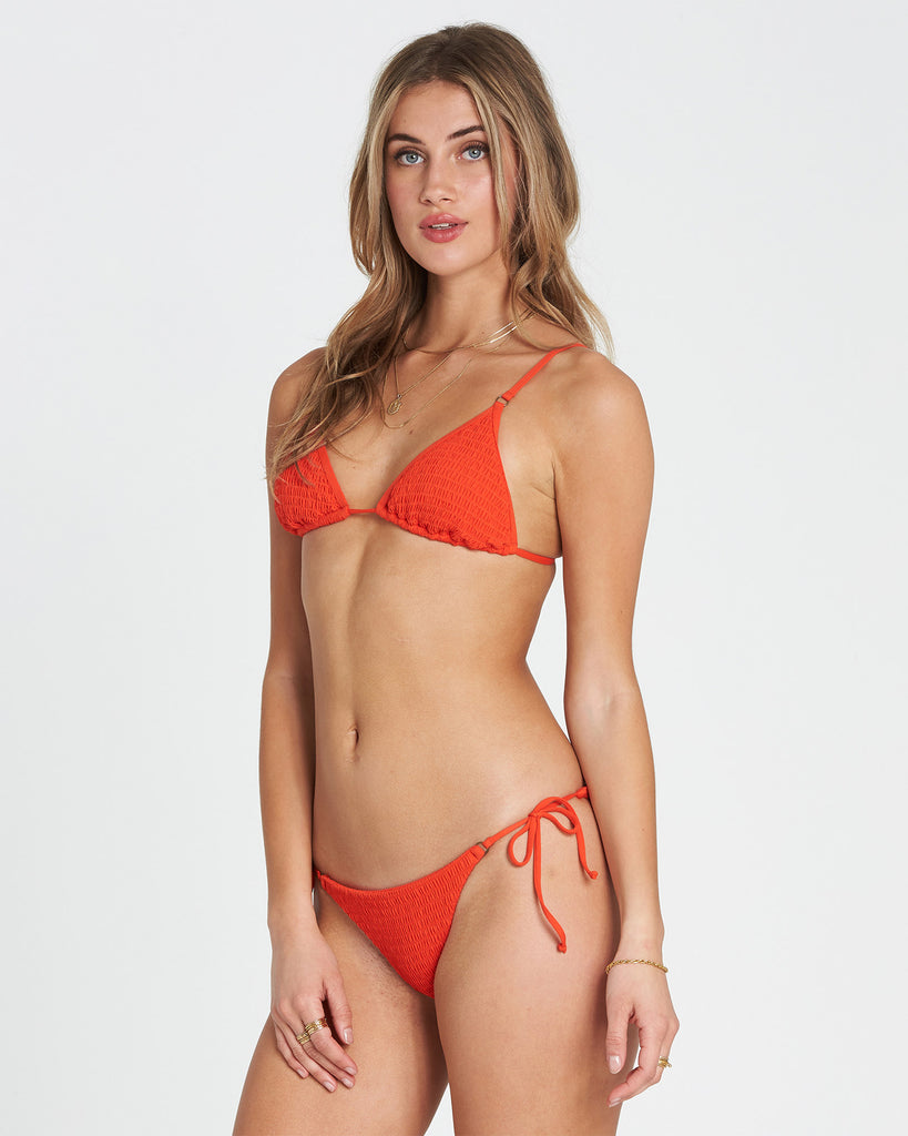 Billabong Women's Fire Isla Bikini Bottom |Fire