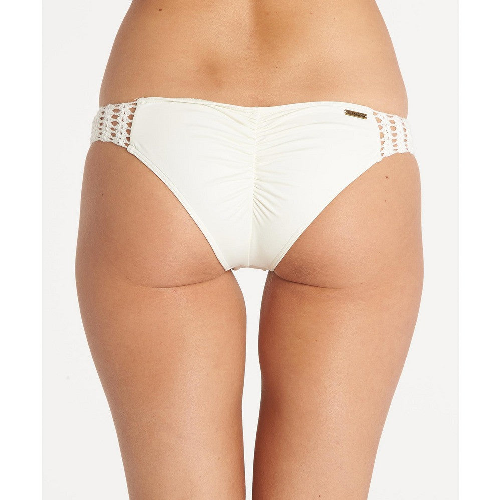 Billabong Women's Hippie Hooray Hawaii Bikini Bottom | Seashell | SALE
