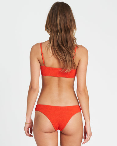 Billabong Women's Fire Hawaii Lo Bikini Bottom |Fire