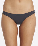 Billabong Women's Sol Searcher Tonga Bikini Bottom | Pool Blue | Sangria | Black Sands