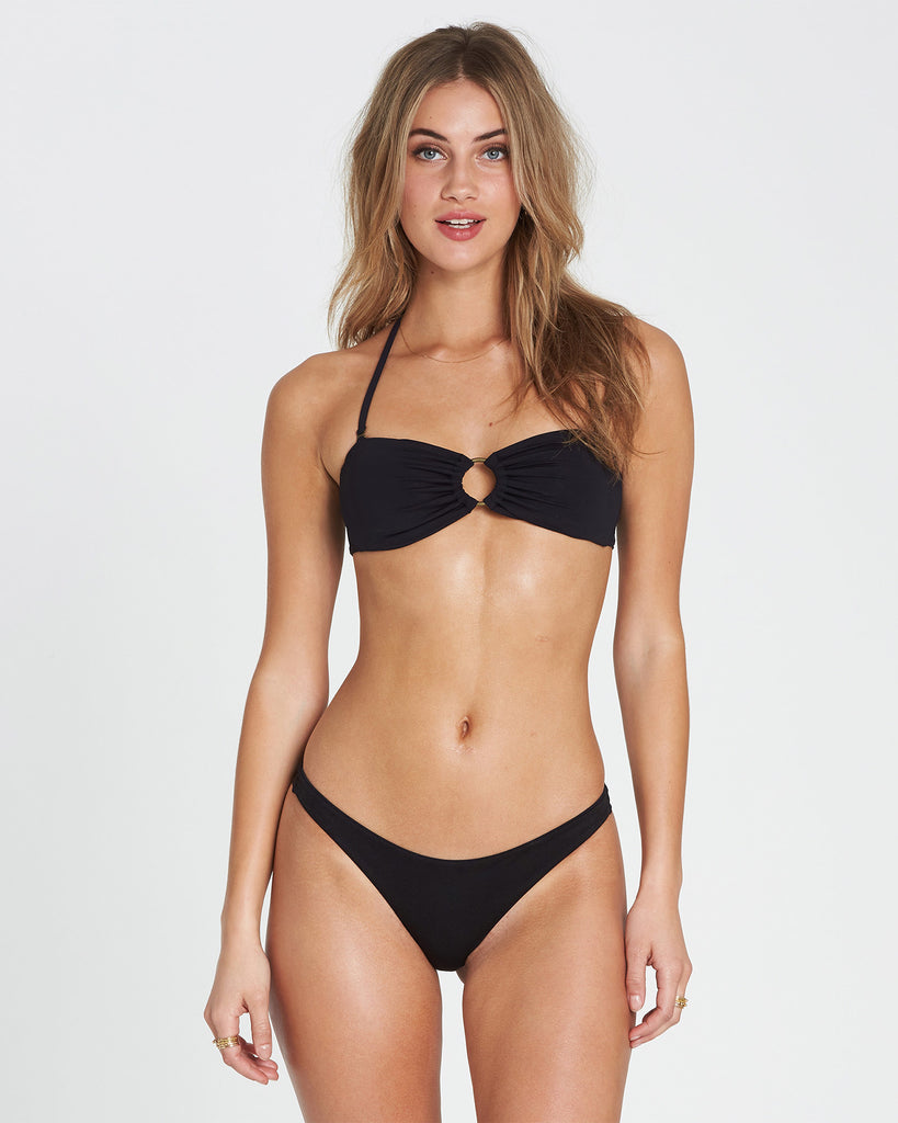 Billabong Women's Sol Searcher Tanga  |Black Pebble