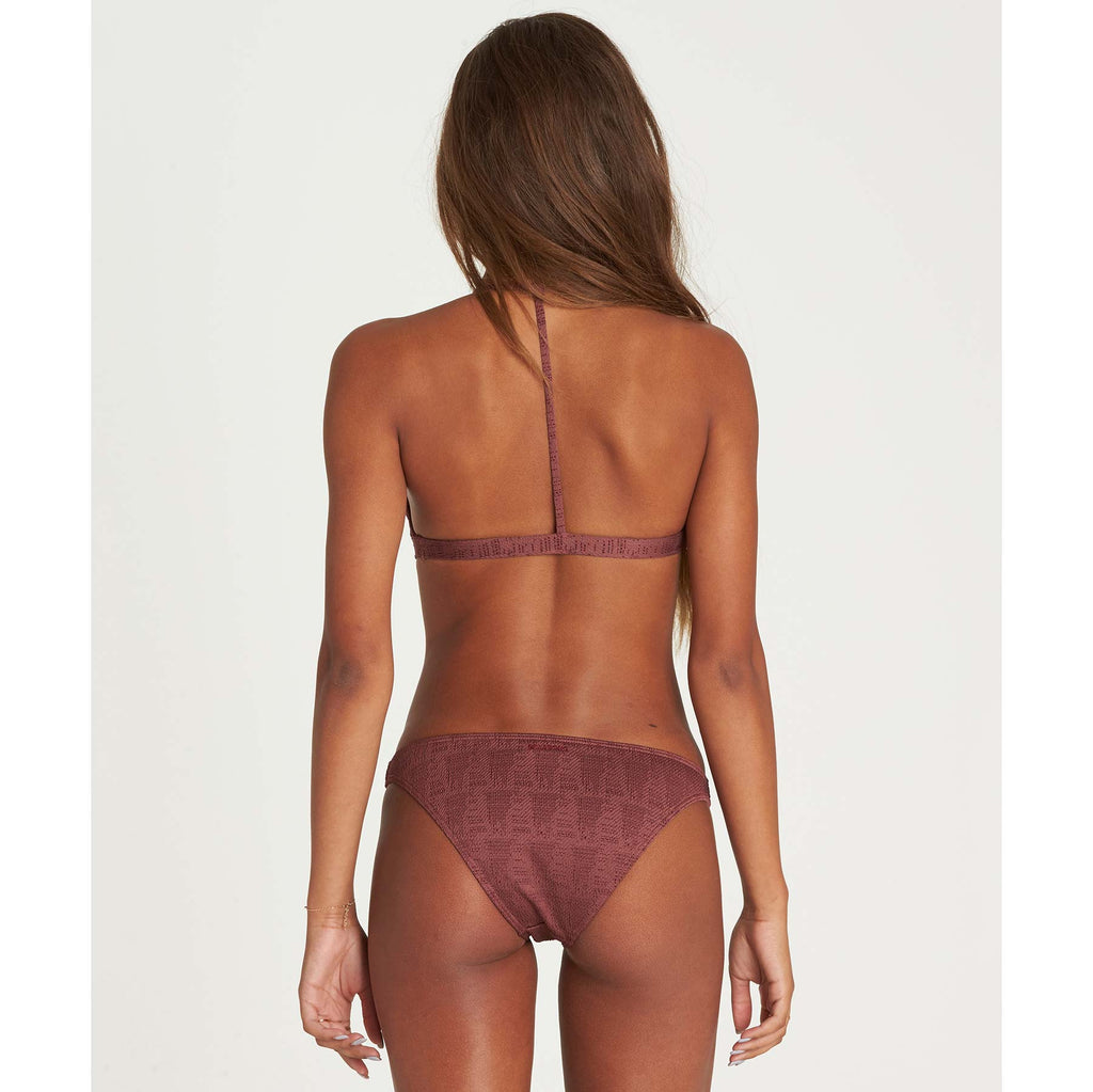 Billabong Women's Way To Love Tri Bikini Top | Plum Berry