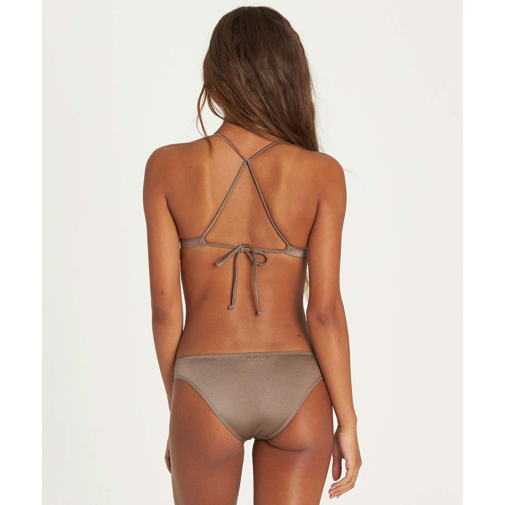 Billabong Women's Sol Searcher Fixed Triangle Bikini Top | Clay