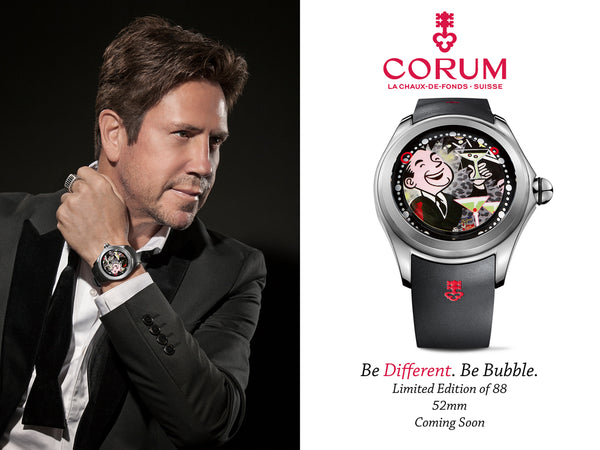 Nelson De La Nuez corum watches designer brands pop artist king of pop art