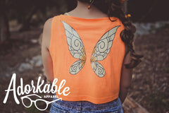 Autumn Pixie Crop Tank