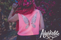 Rose Pixie Crop Tank