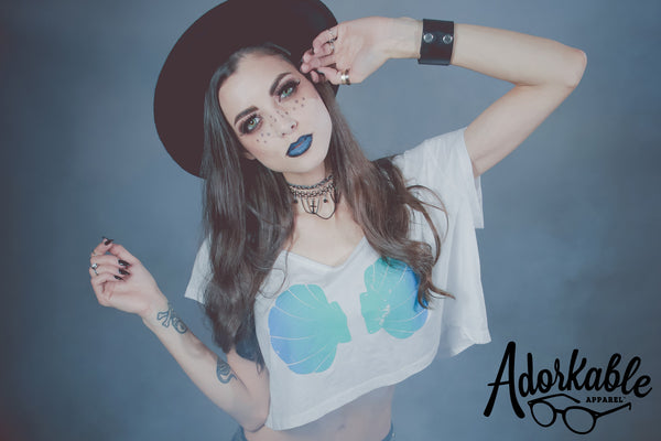 OCEAN Urban Mermaid Crop Top
