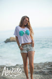 OCEAN Urban Mermaid Boxy Tee