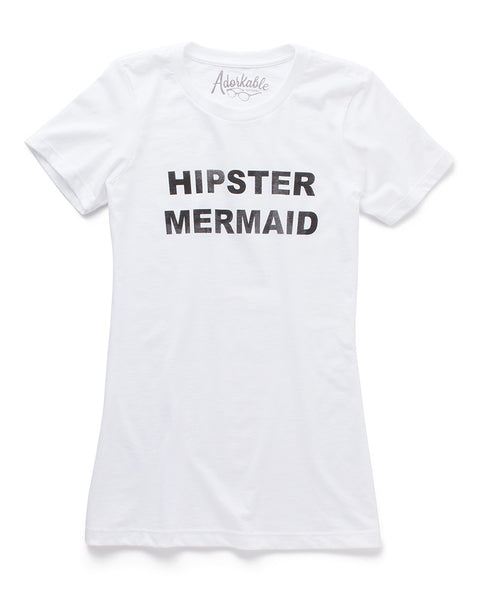 Hipster Mermaid Tee