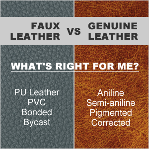 Faux Leather vs Genuine Leather