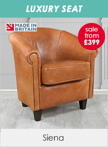 Siena Leather Tub Chairs