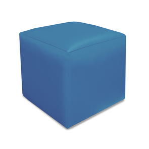 Paris Just Colour Crib 5 Faux Leather Cube Footstool - Colours L-Z