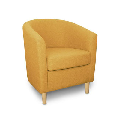 St Tropez Fabric Contract Tub Chair