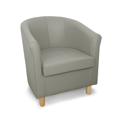Tuscany Just Colour Crib 5 Faux Leather Tub Chair - Colours A-K