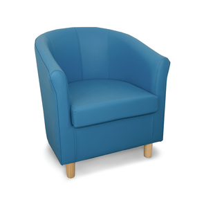 Tuscany Just Colour Crib 5 Faux Leather Tub Chair - Colours L-Z