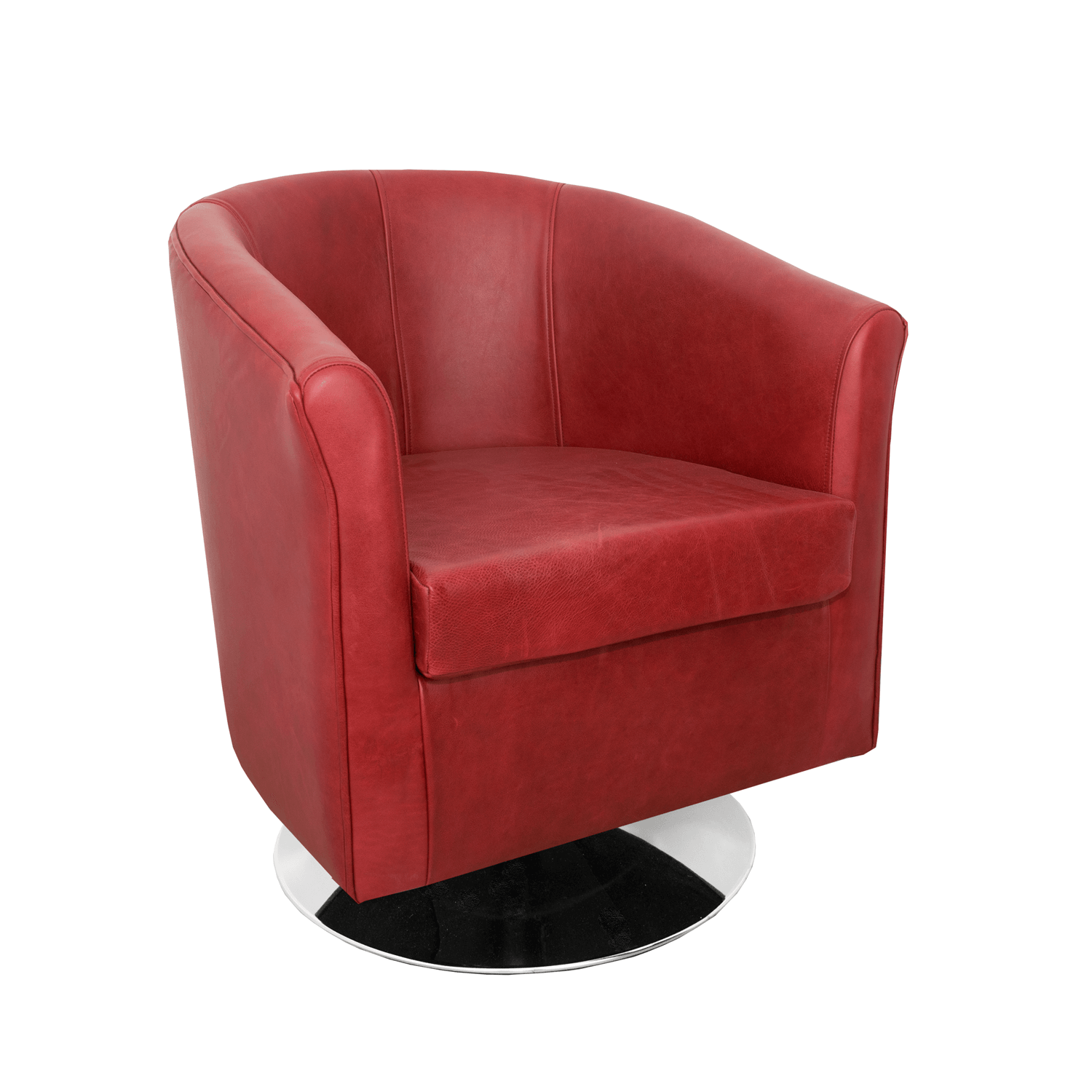 Super Tuscany Genuine Leather Swivel Tub Chair In Crib 5 Mustang Ibusinesslaw Wood Chair Design Ideas Ibusinesslaworg
