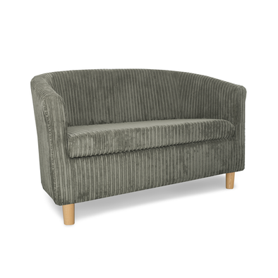 Tuscany Fabric 2 Seater Sofa in Metropolis Plain Texture