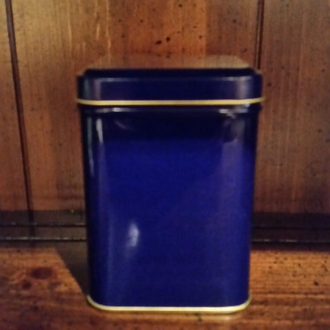 Tea Tin - Cobalt - The Tea & Spice Shoppe
