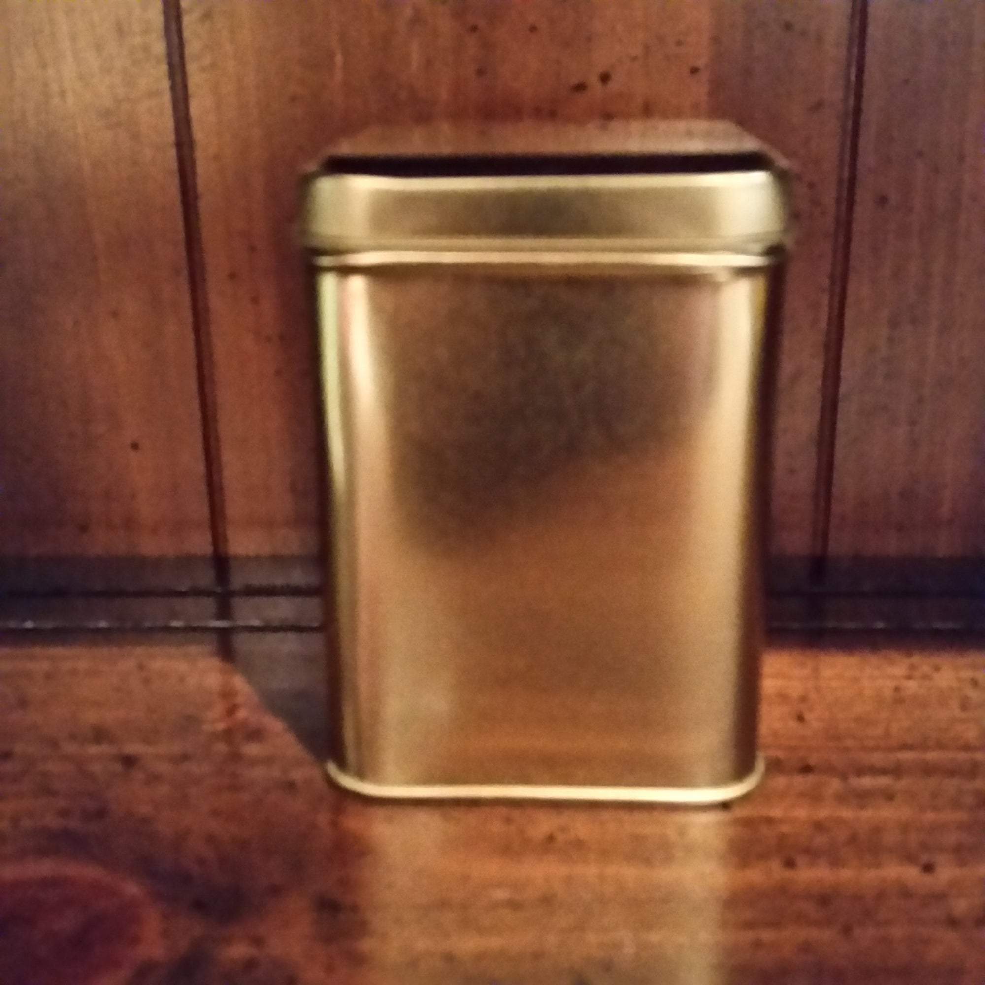 Tea Tin - Gold - The Tea & Spice Shoppe