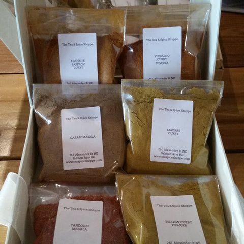 Spice Box - Essential Curry Box - The Tea & Spice Shoppe