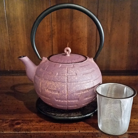 Cast Iron Teapot - Purple Gold - The Tea & Spice Shoppe