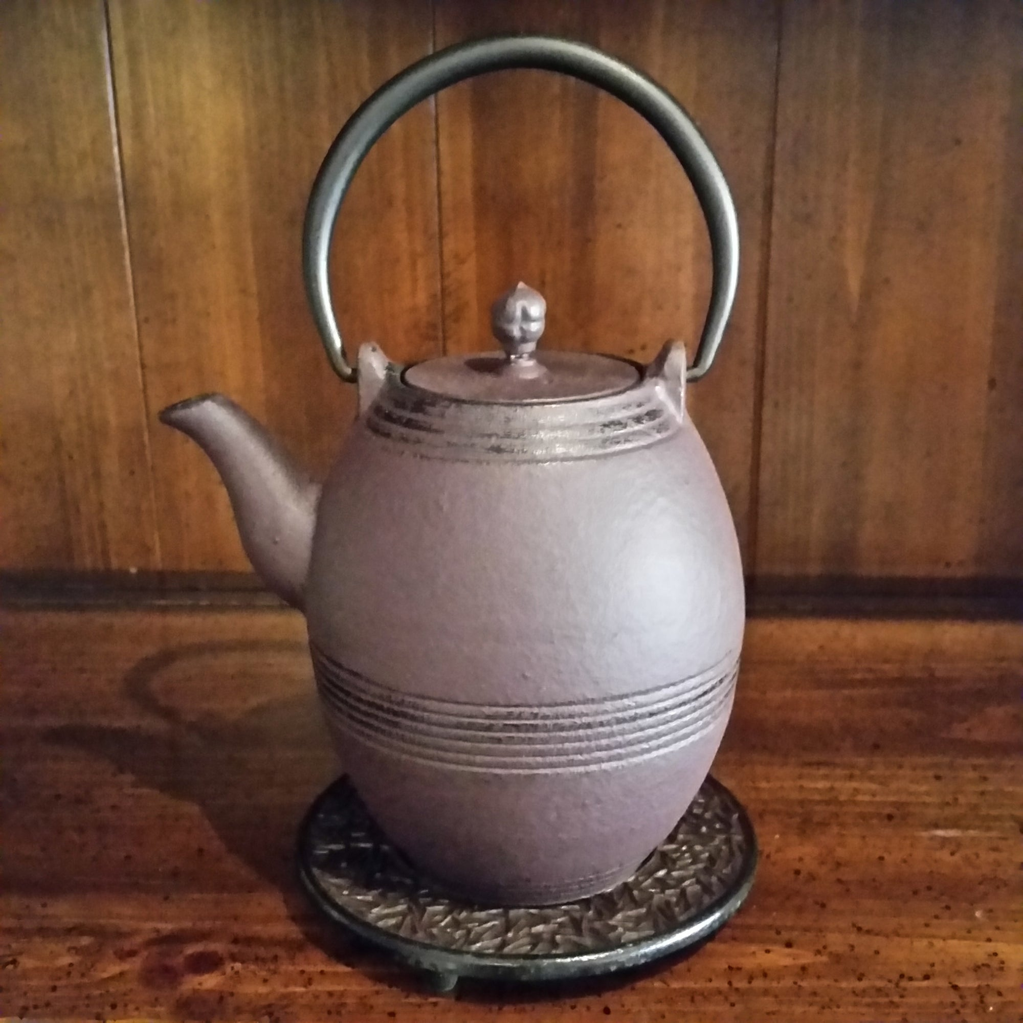 Cast Iron Teapot - Barrel - The Tea & Spice Shoppe