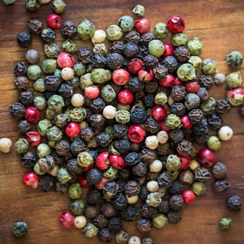 4 Blend Peppercorn - Black ,White, Green, Pink Peppercorn