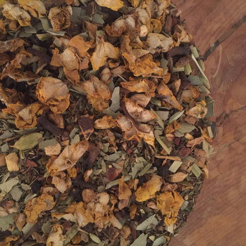All Natural Ayurvedic Breathe Deep Tea, Wellness, Herbal, No Caffeine