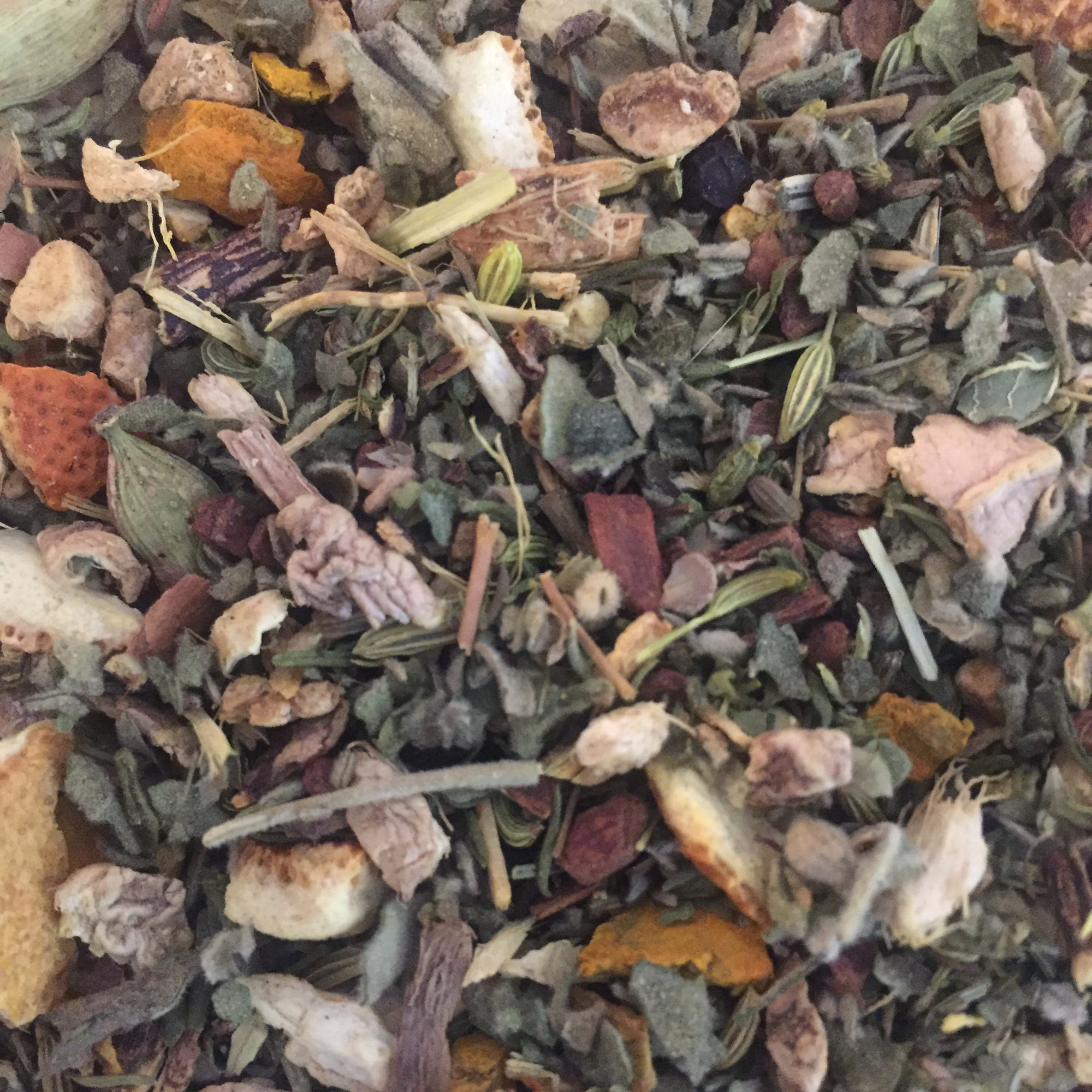 All Natural Ayurvedic Throat Coat. Premium Loose Leaf Tea. No Caffeine. Herbal. Help sore throat