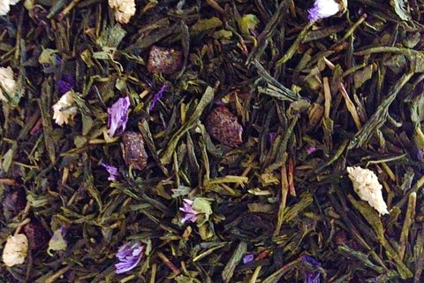 All Natural Sencha Green Tea. Georgia Peach. Premium Loose Leaf Tea