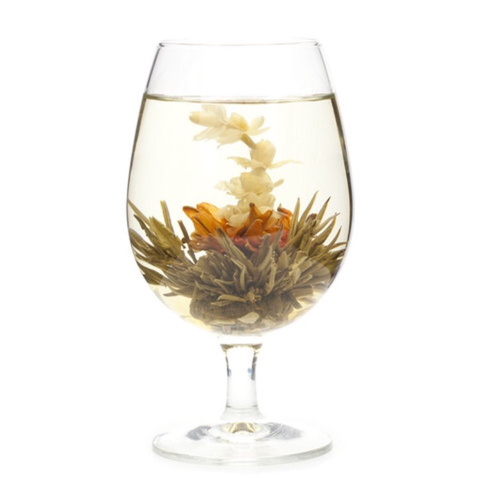 3 Flower Burst Flowering/Blooming Tea Balls, Luxury Green Tea, Lily, Jasmine, Osmanthus Blossums