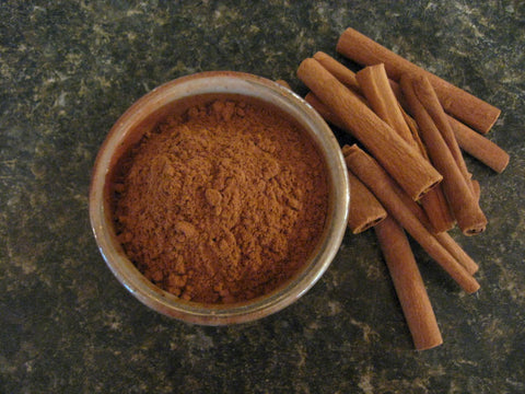Vietnamese Saigon Cinnamon Powder - Strong cinnamon flavor, deep brown with rich hotness, approx 5% oil content (most other cinnamons have about a 2.5% oil content).  Great for dishes where cinnamon is key ingredient.  An important flavor in the broth used to make the noodle soup phở
