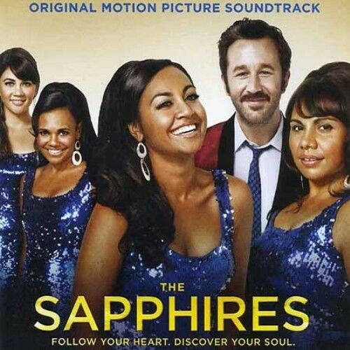 THE  SAPPHIRES Original Soundtrack: Deluxe Ed. SIGNED BY JESSICA MAUBOY CD