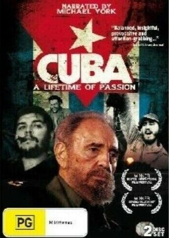 CUBA A Lifetime Of Passion DVD NEW