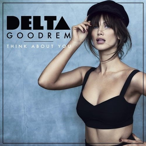 DELTA GOODREM Think About You (Personally Signed by Delta) CD Single