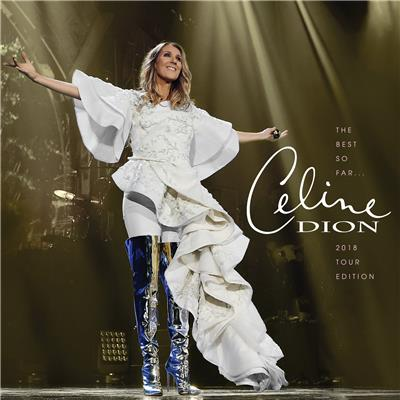CELINE DION The Best So Far... (2018 Tour Edition) CD
