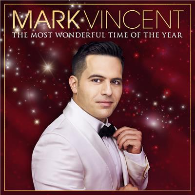 MARK VINCENT The Most Wonderful Time Of Year (Personally Signed by Mark) CD