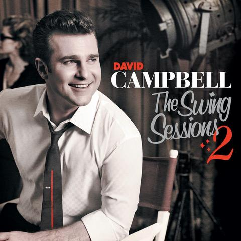 DAVID CAMPBELL The Swing Sessions 2 CD